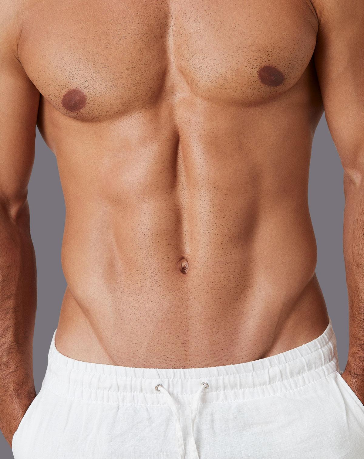 Muskulöser Männeroberkörper
