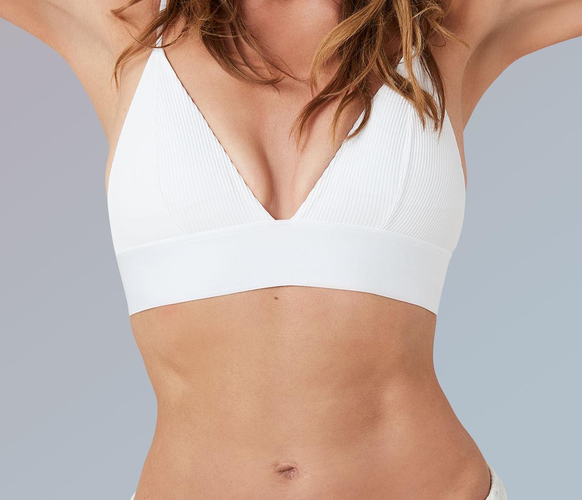 Durchtrainierter Frauenkörper