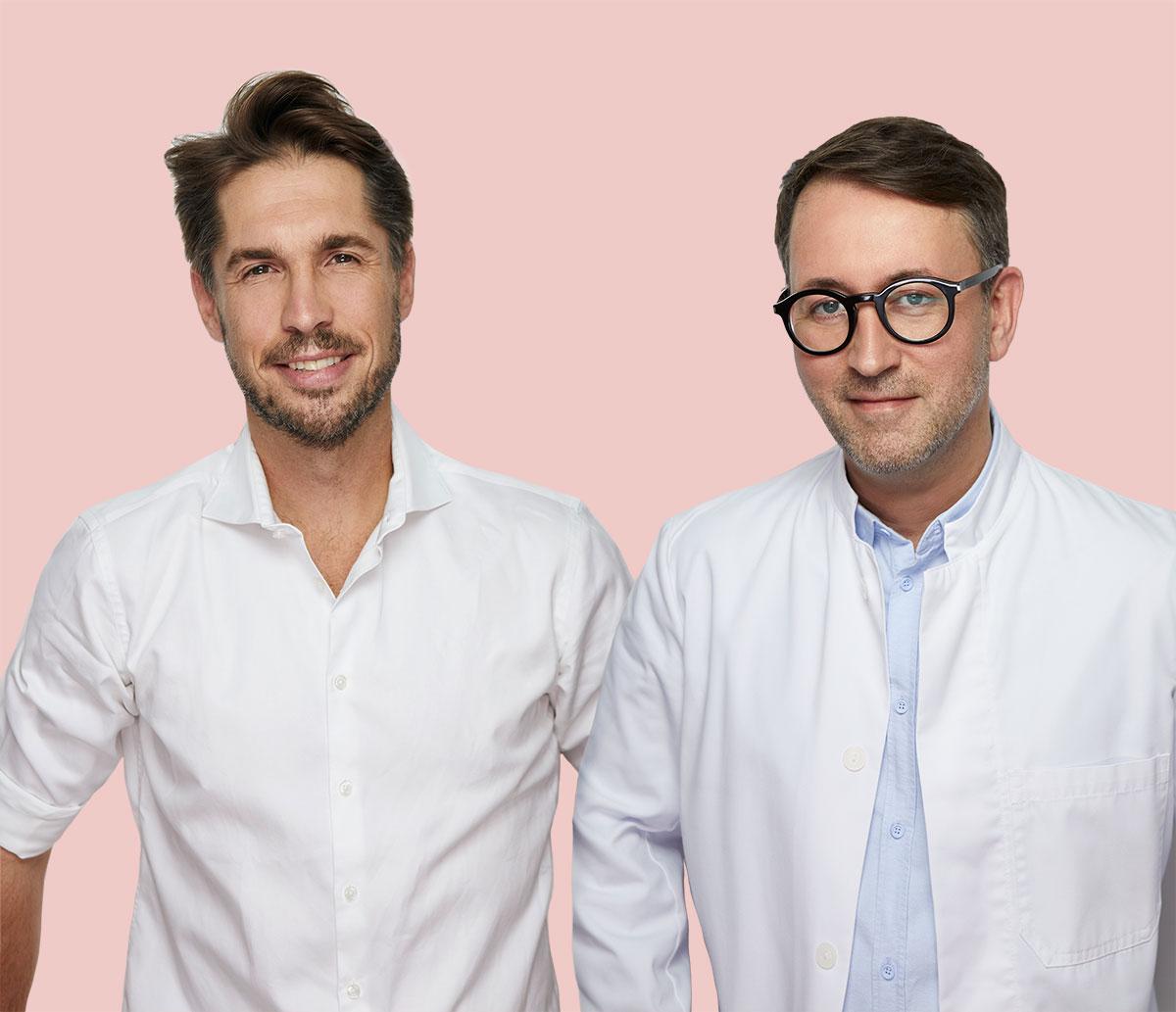 Porträt von Volker Rippmann und Christian Roessing